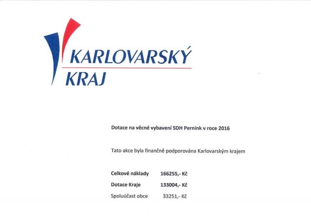 Projekty a akce realizované s podporou Karlovarského kraje
