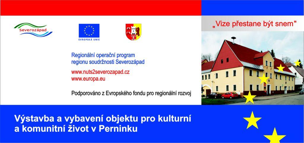 Výstavba a výbava objektu pro kulturní a komunitní život v  Perninku